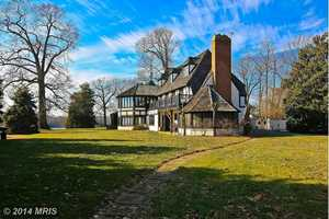 This Annapolis home is just under $6 million with a $5.999 million price tag.