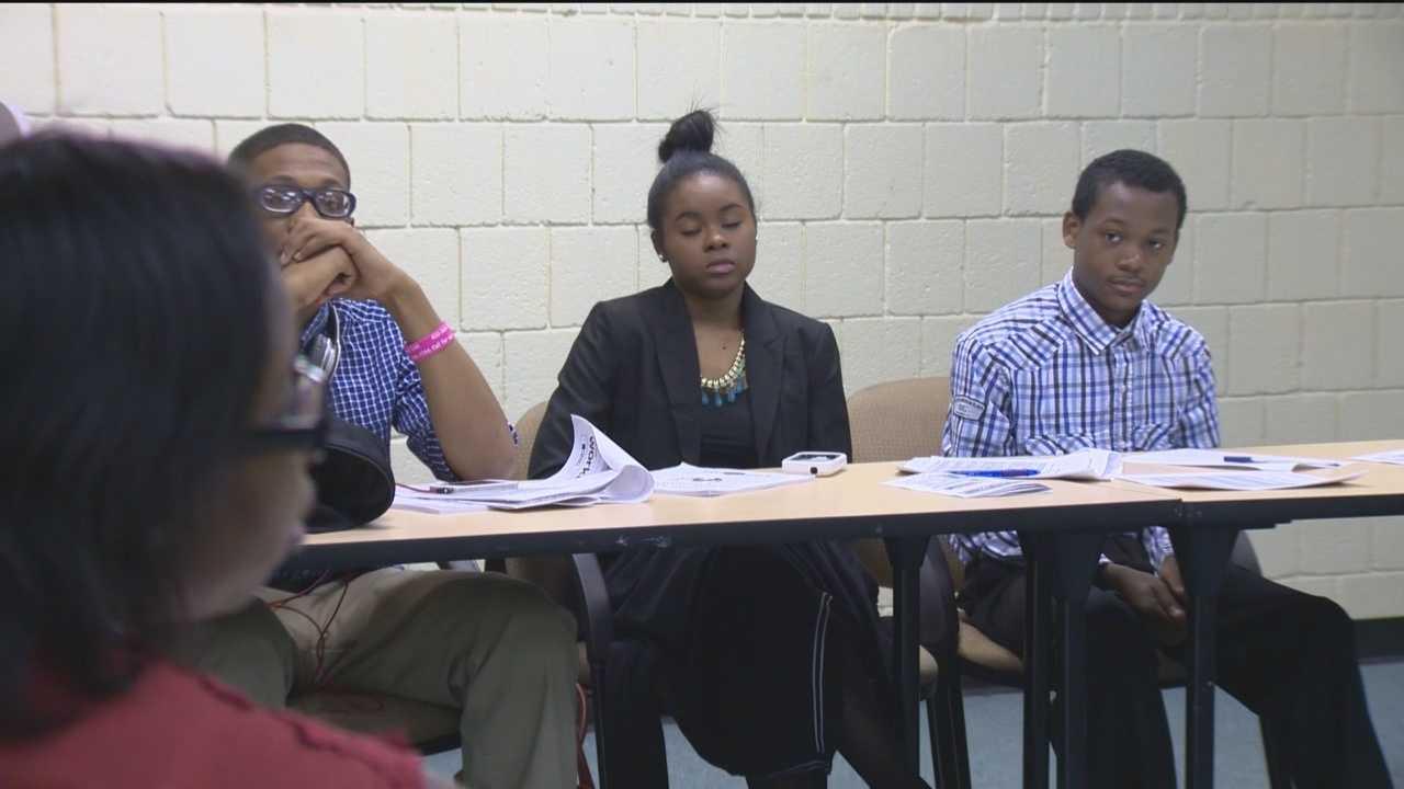 Teens get help to find work