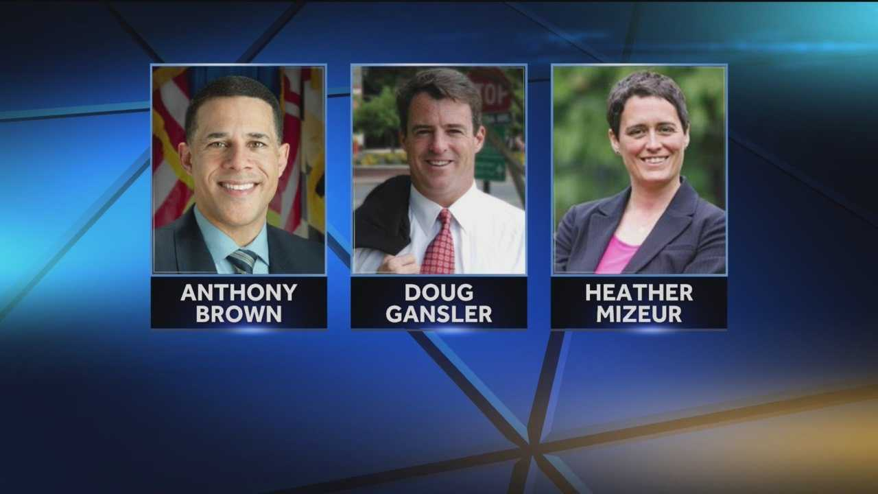 Maryland's Democratic gubernatorial candidates are converging in Baltimore for a forum.