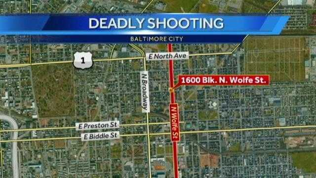 North Wolfe Street fatal shooting