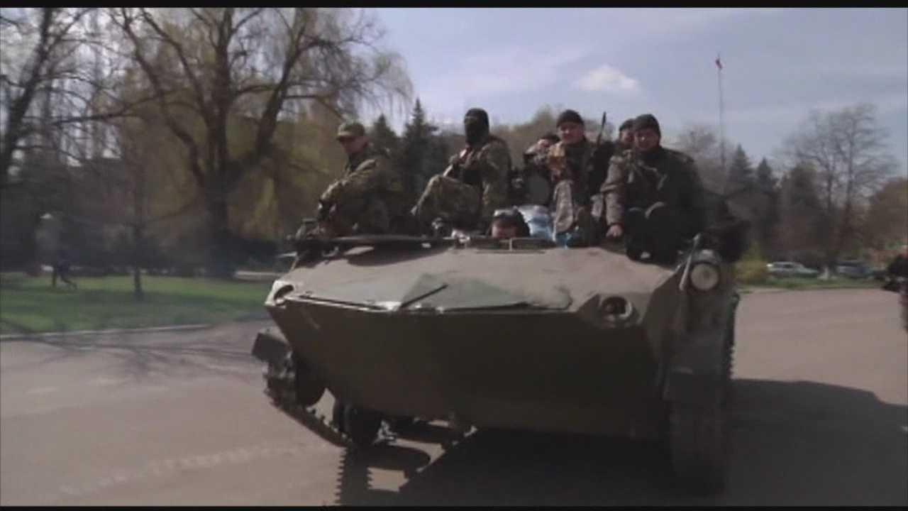 Baltimore's Jewish community calls the provocation in Ukraine horrid.
