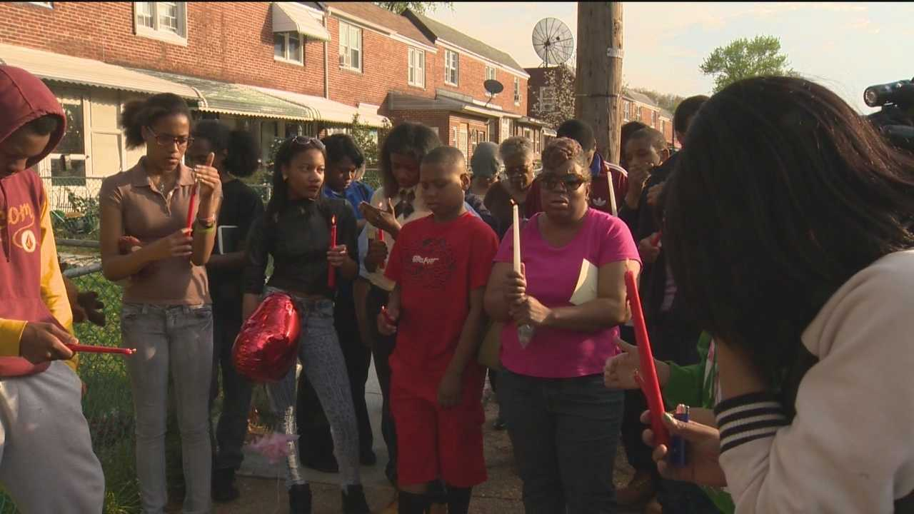 As Baltimore City police investigate the slaying of a 14-year-old boy in Cherry Hill, the victim's family and friends are left to wonder why it had to happen to such a good kid.