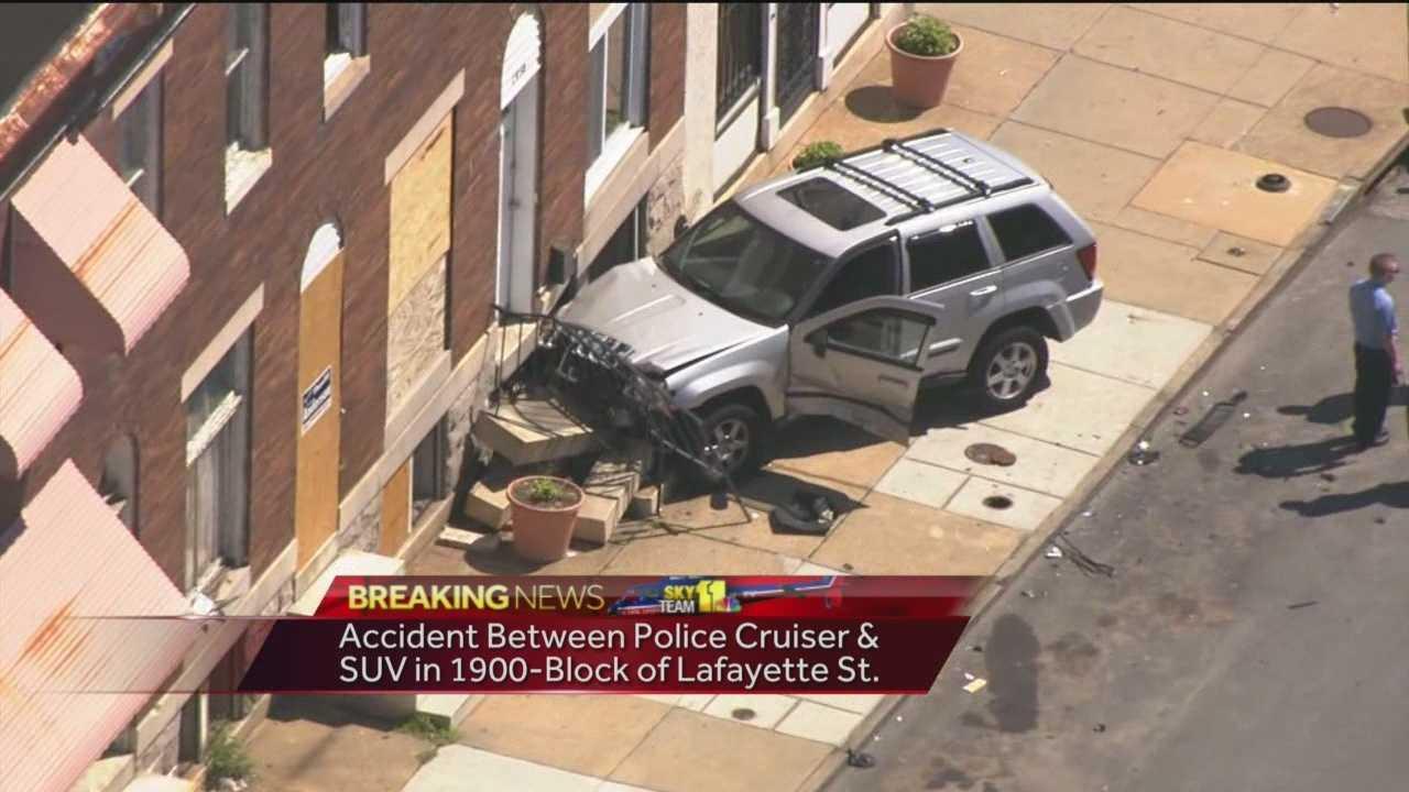East Baltimore crash