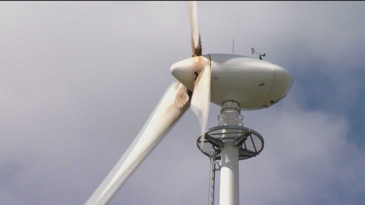 Wind energy project's approval could jeopardize air base