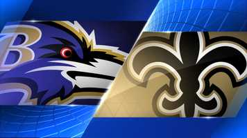 Preseason: Thurs., Aug. 28 @ New Orleans - 8:00 p.m. (WBAL-TV)