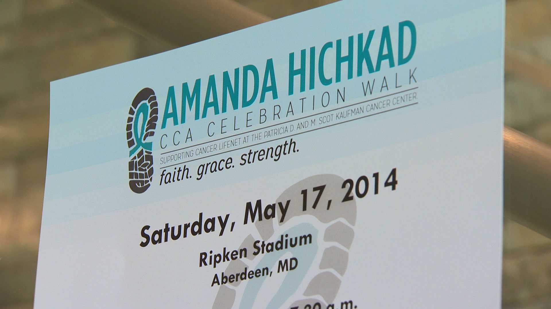 Amanda Hichkad CCA Celebration Walk