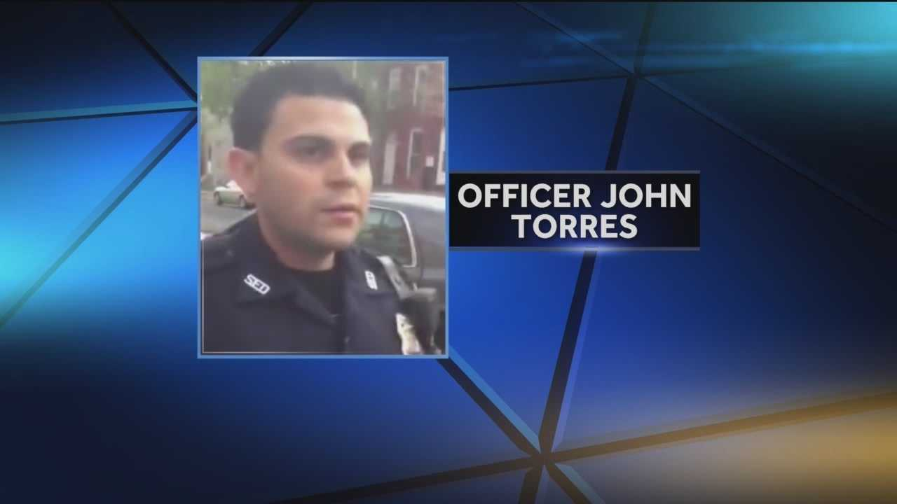 Baltimore officer charged in man's shooting