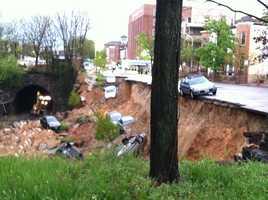 Landslide Thursday morning