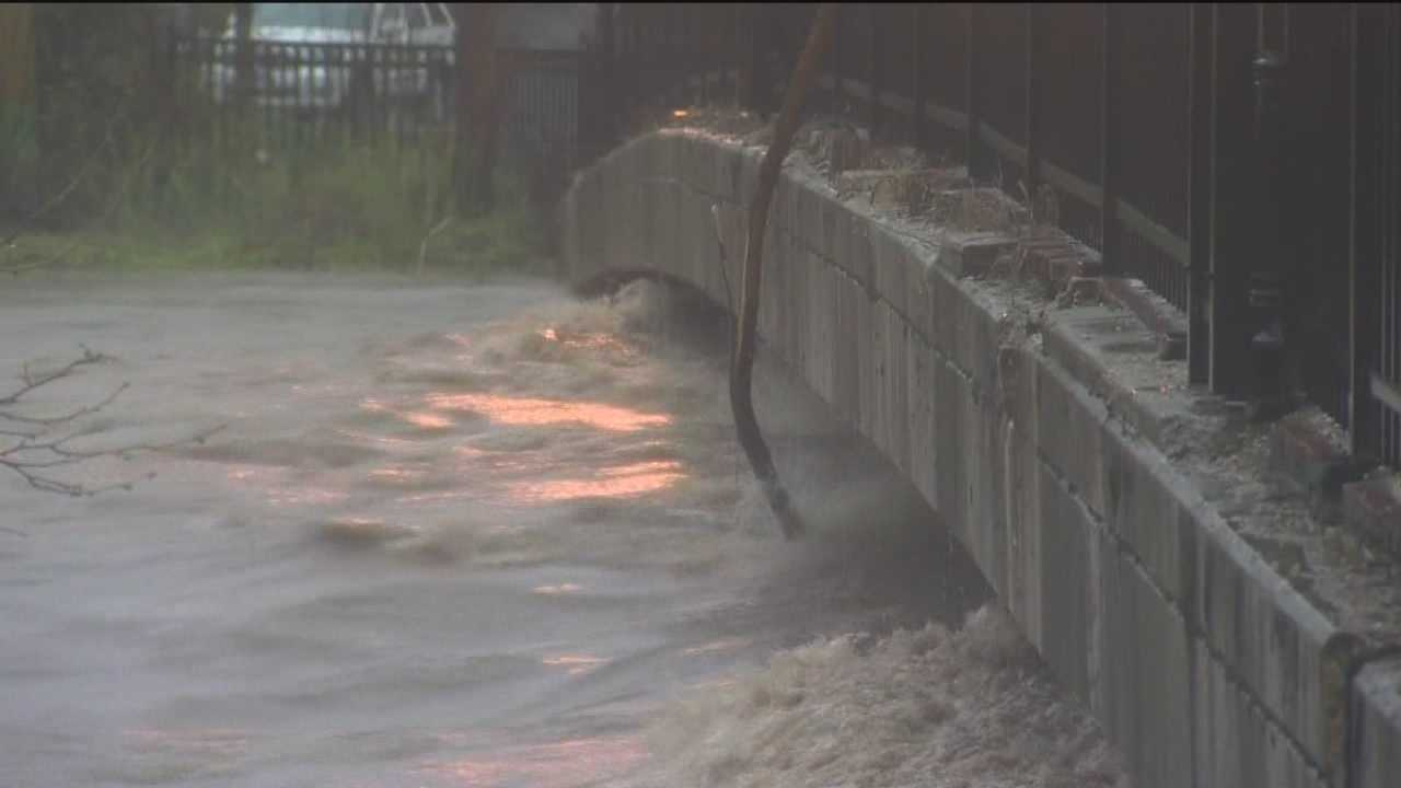 Flooding rains closes several roads throughout region