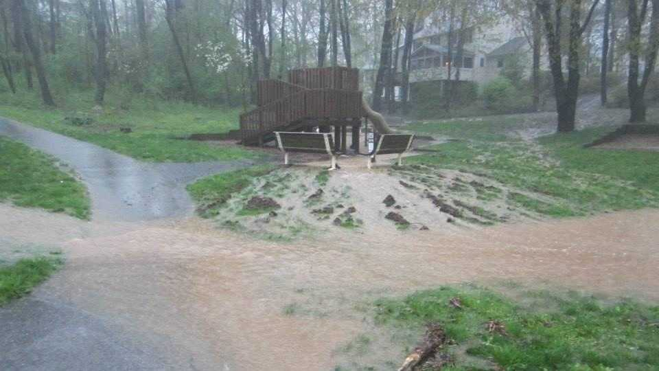 Columbia flooding