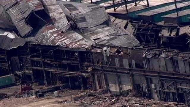 Bethlehem Steel building collapse