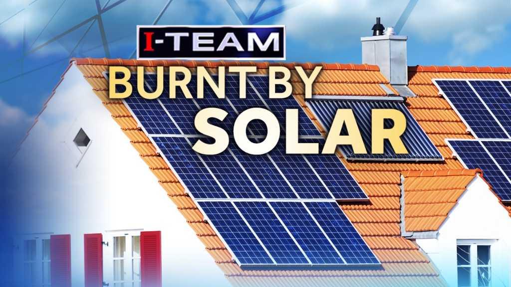 Burnt by solar energy