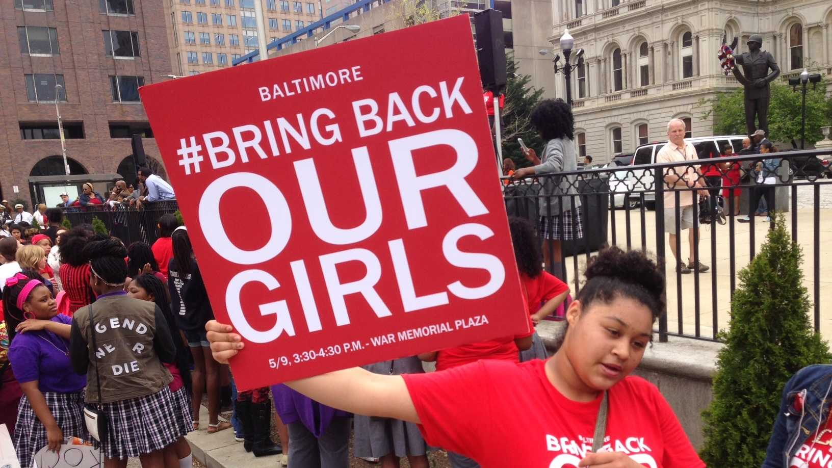 Bring Back Our Girls rally in Baltimore