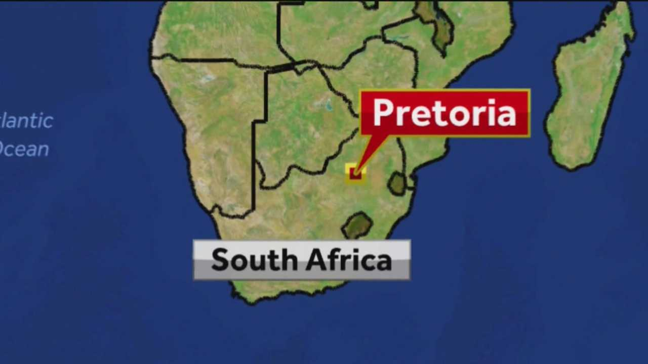 Pretoria South Africa map