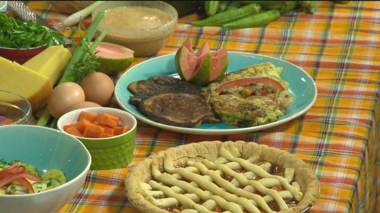 Chef Theo Gumbs makes a Creole Omelet