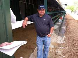 May 13: Alan Sherman, along with his father, Art Sherman, are the trainers for Kentucky Derby-winner California Chrome.