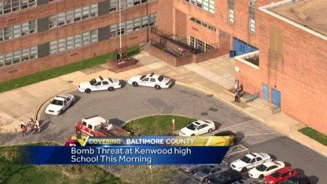 Kenwood HS bomb threat