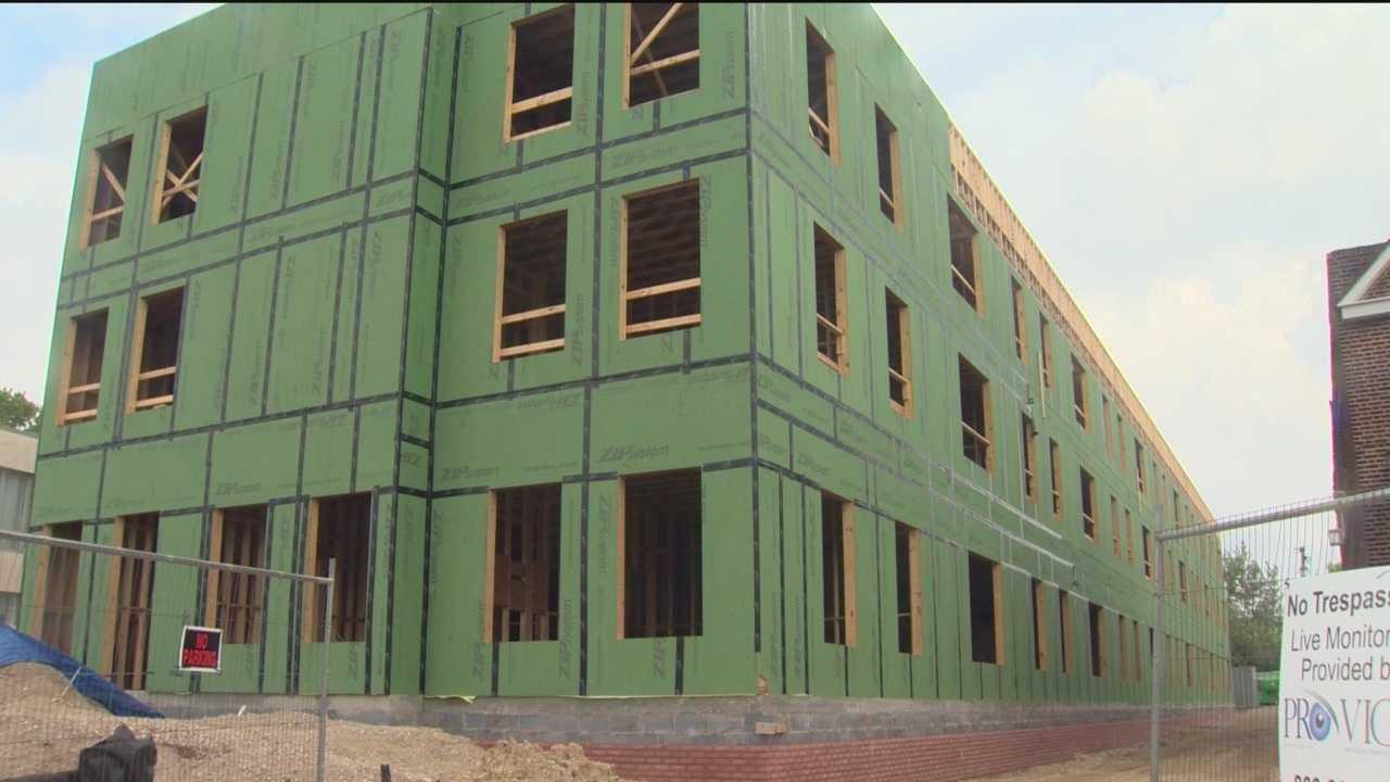 Gambling proceeds funding new construction