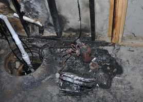 Property damage from fire involving a recalled Gree-manufactured dehumidifier. Full Story
