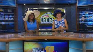 May 17: Lisa Robinson, Jennifer Franciotti display their hats