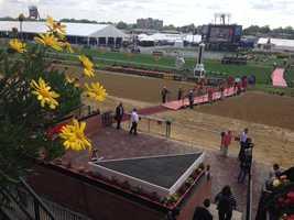 May 17: Pimlico track
