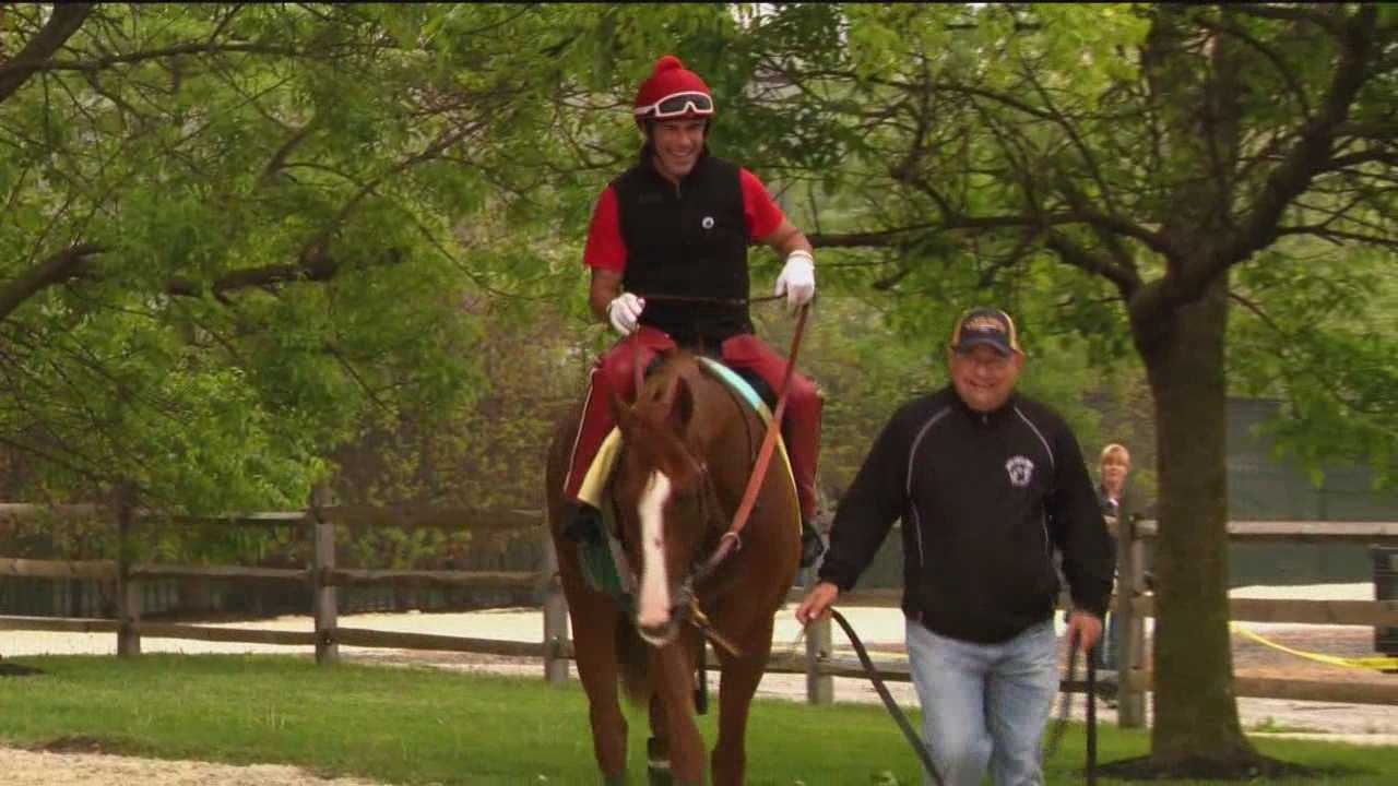 Pete Gilbert shares the local connections to the Preakness Stakes.
