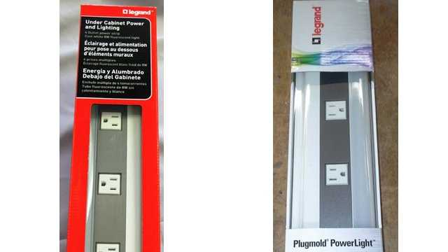 legrand wiremold expands recall of power strips cabinet fluorescent lighting legrand