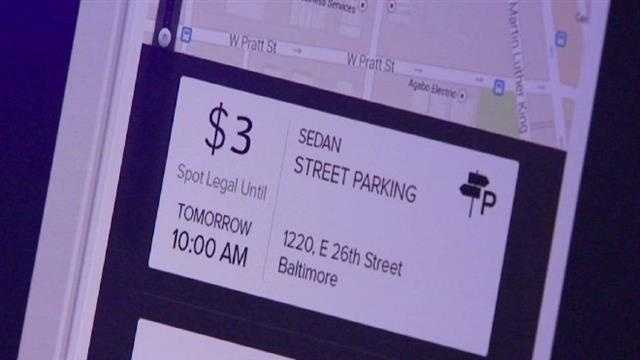 Haystack parking app