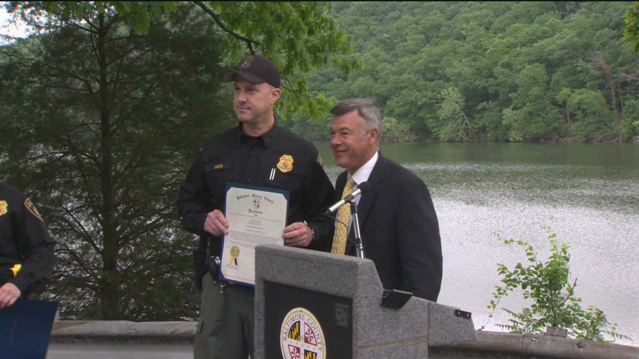Swimming in reservoirs is a mistake that can prove deadly, but thanks to the heroic actions of two Baltimore Environment police, two young people are alive today.