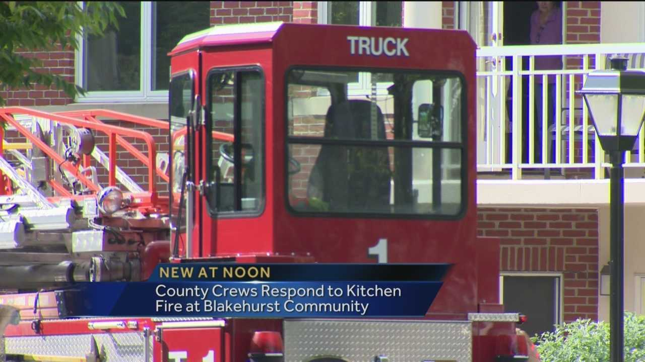 Towson kitchen fire