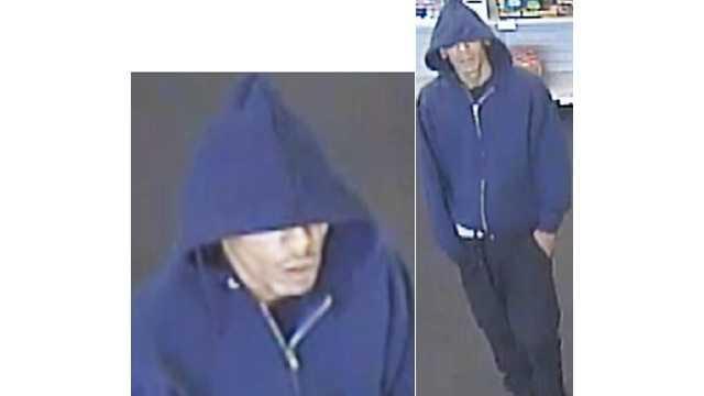 Edgewood Radio Shack robbery surveillance photo