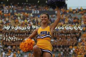 """""""I attended Louisiana State University for college. LSU! Go Tigers!"""""""