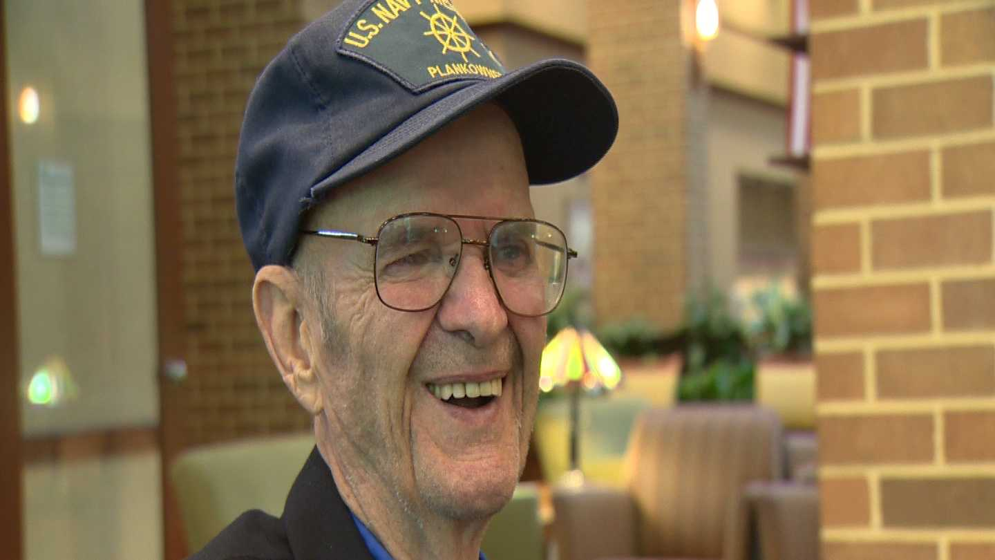 Frederick Griswold shares his story of D-Day survival with 11 News.