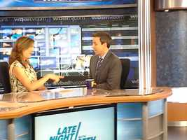 Jennifer Franciotti chats with Seth Meyers.