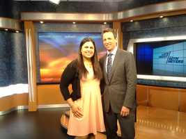 Many of us at WBAL-TV were able to snap a picture with Friday's resident funny man. Here's WBALTV.com's Saliqa Khan with Seth Meyers.