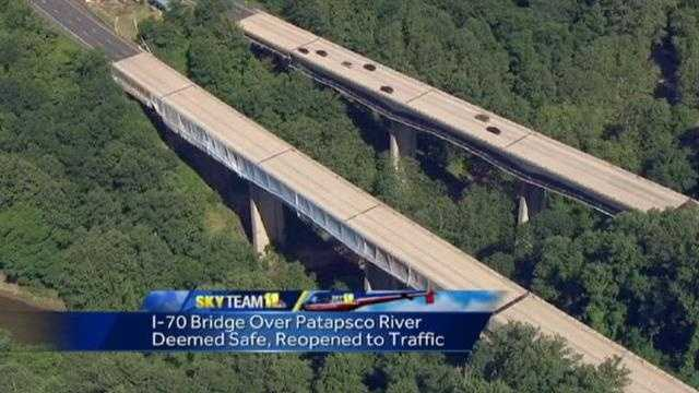 I-70 bridge reopened