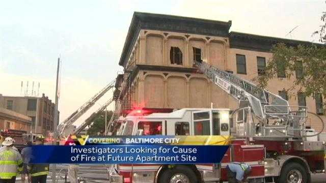 East Baltimore fire