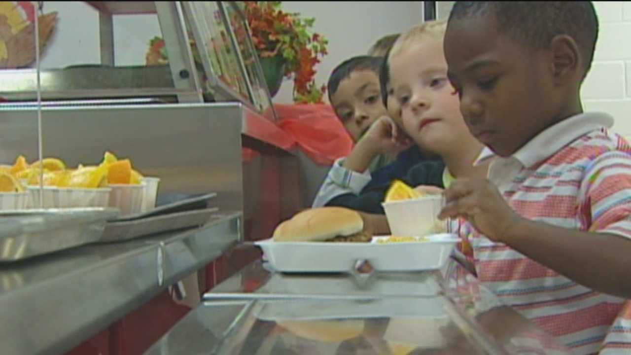 The Anne Arundel County School System is expected to serve more than 100,000 meals over the summer. It's a free meal for anyone, especially those in need.