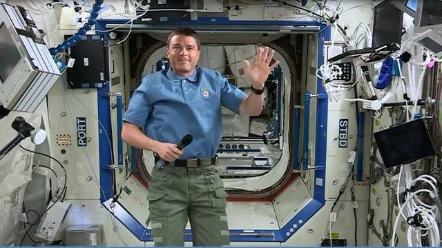 Cockeysville astronaut Reid Wiseman
