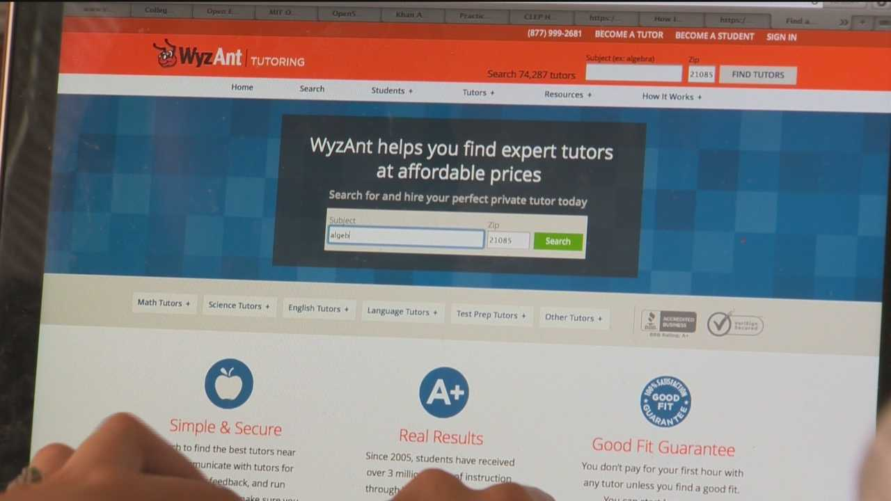 Website helps find private tutoring