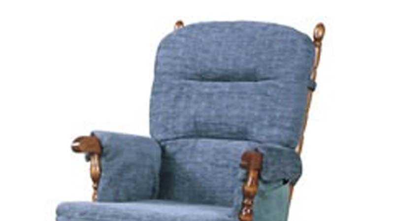 Brooks Furniture glider chair
