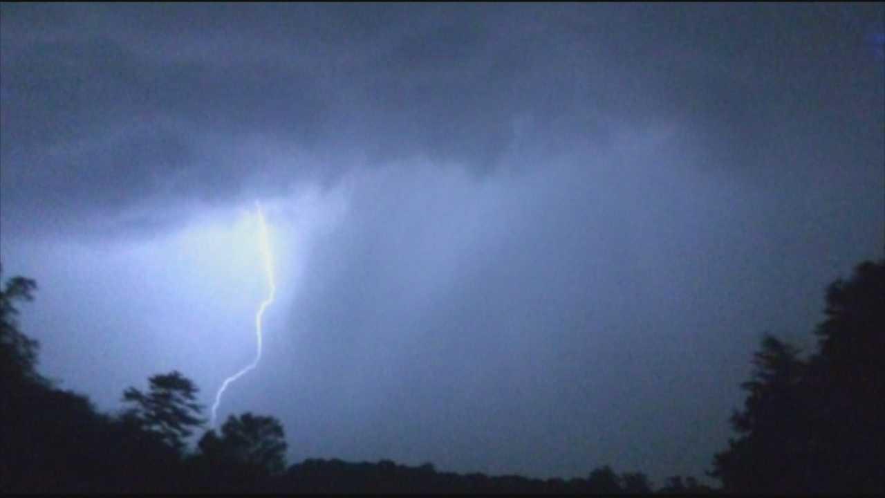 Wild thunderstorms wake many, cause damage