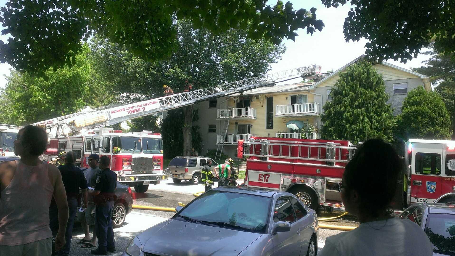 Warren Lodge Court fire