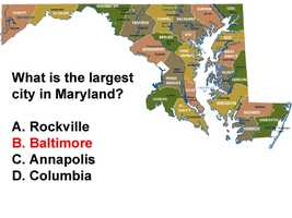 Columbia is characterized as Maryland's second largest city/town.