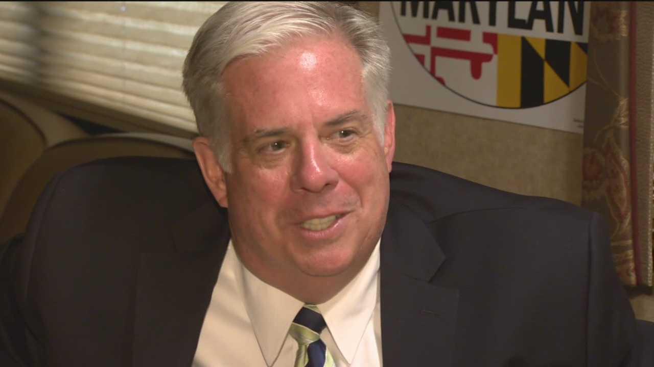 Republican gubernatorial candidate Larry Hogan