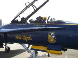 While she's had many wonderful experiences since moving to Maryland, her most memorable assignment so far was the time she flew with the Blue Angels for Sailabration. What an incredible honor and experience!