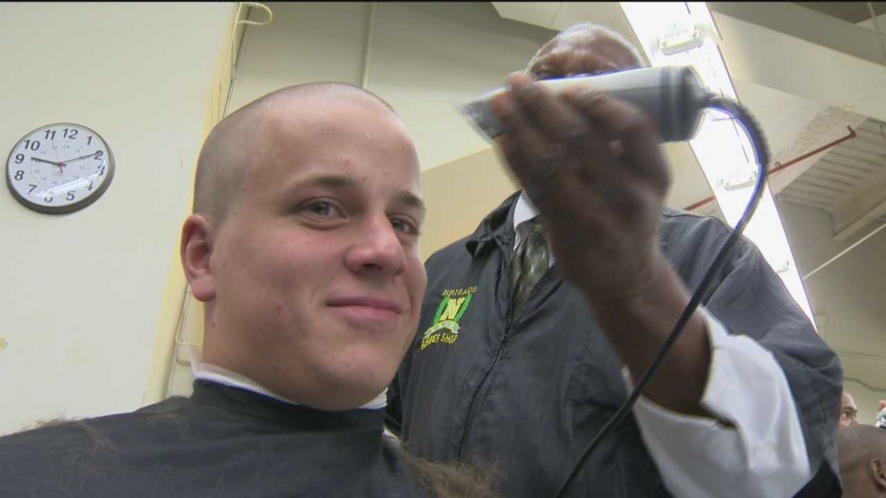 Plebe Summer begins for recruits at Naval Academy