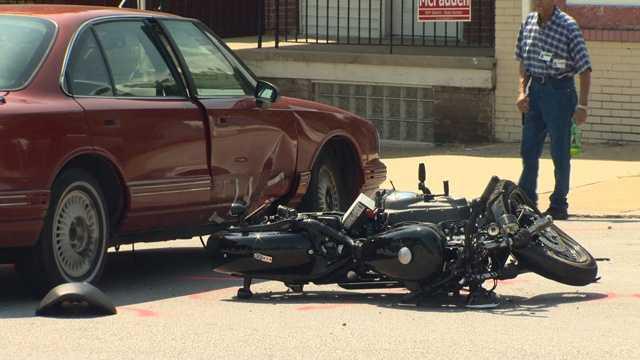 Belair Road motorcycle crash