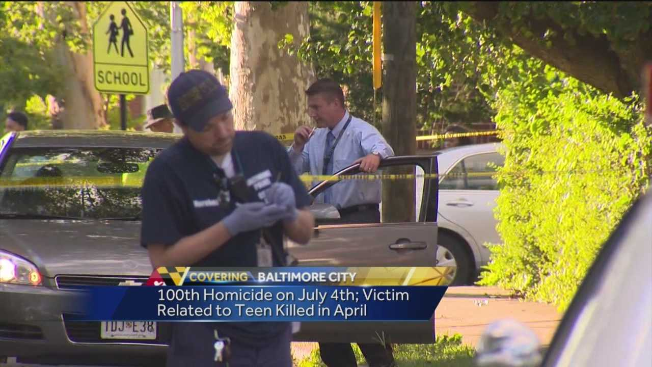 City records 100th homicide despite drop in numbers