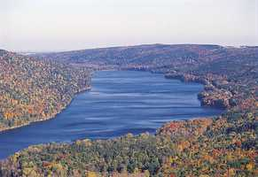 Sarah's favorite place to vacation: She goes to the Finger Lakes in the summer ...